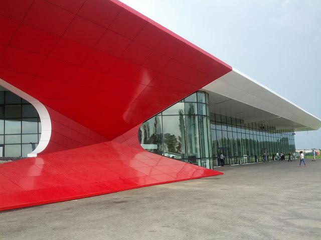 Аэропорт Кутаиси Копитнари (Kutaisi Kopitnari Airport).1