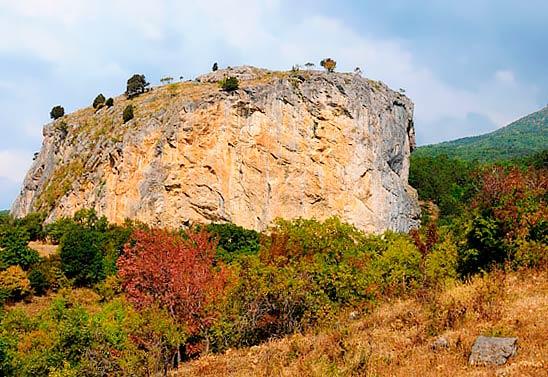 гелин кая - Красный камень